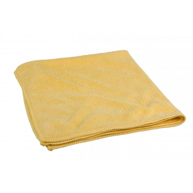Żółta szmatka z mikrofibry