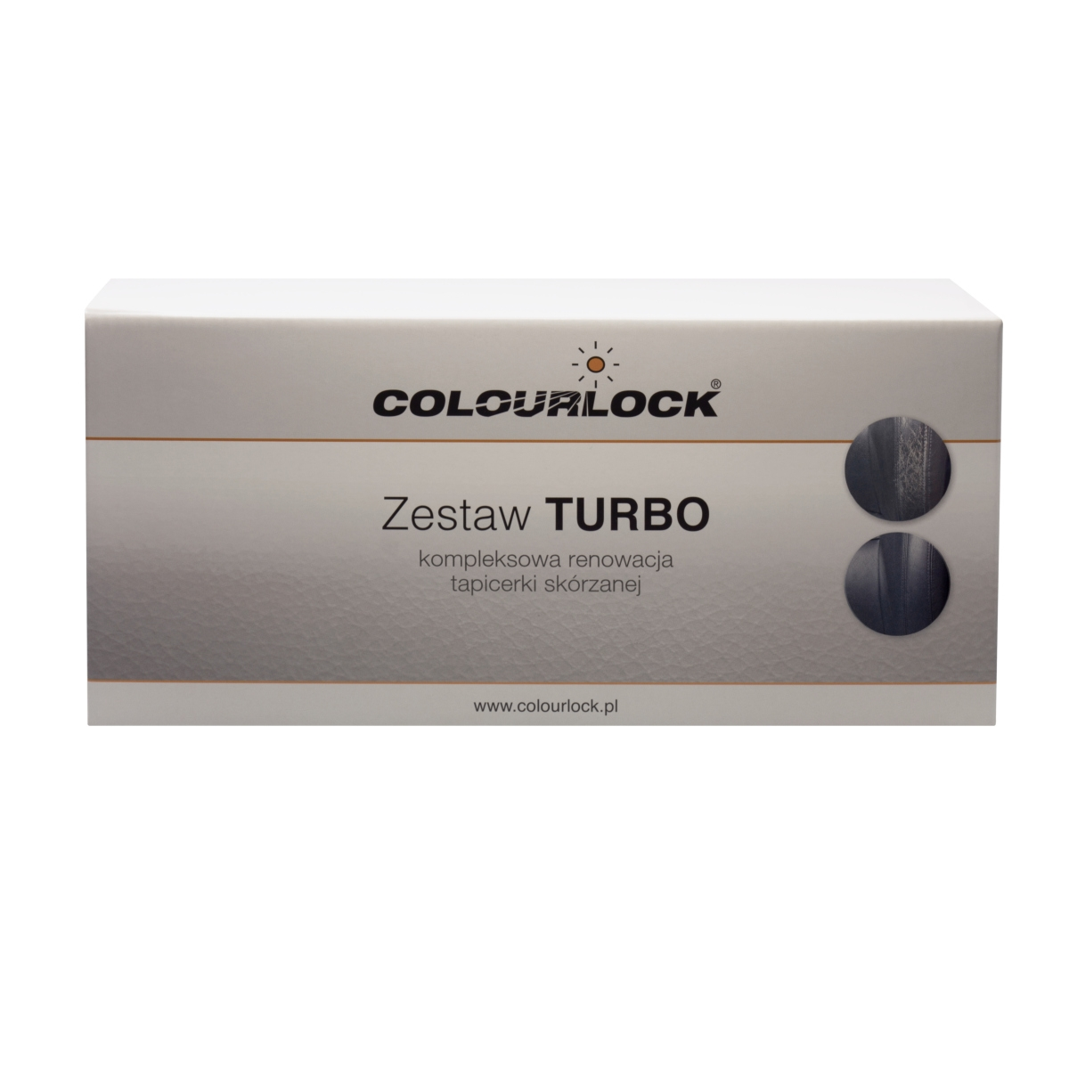 Zestaw Colourlock Turbo renowacja skórzanej tapicerki