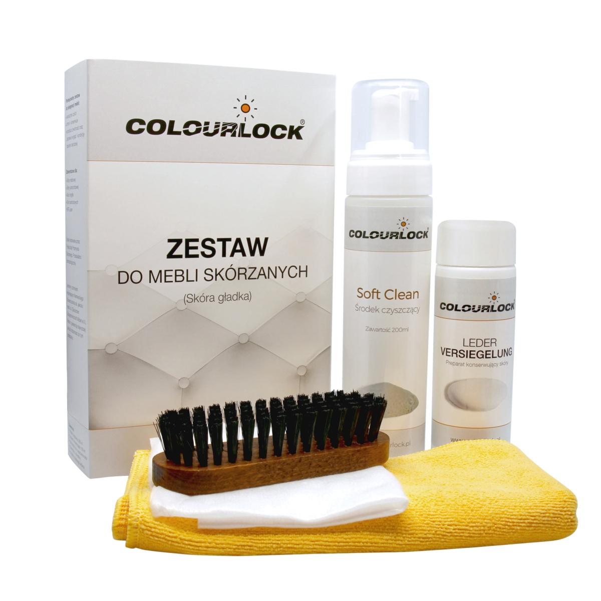 Czyszczenie mebli ze skóry zestaw Colourlock