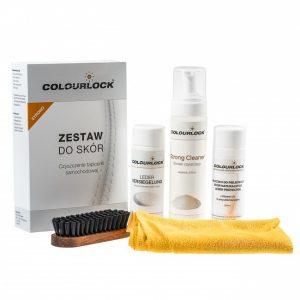 Zestaw do czyszczenia skóry z mleczkiem pielęgnującym strong cleaner
